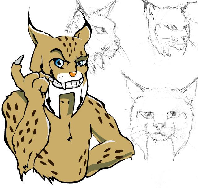logo character illustration design