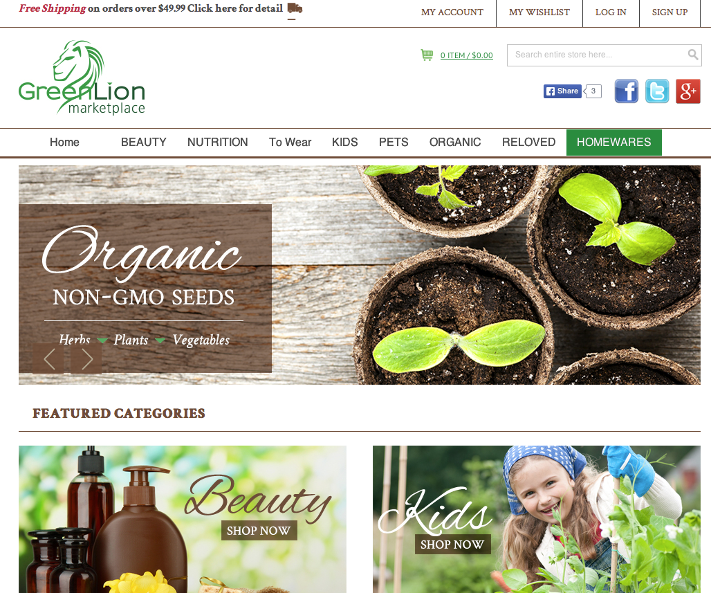 Green Lion Marketplace