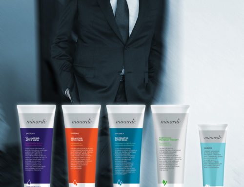 Salvatore Minardi – Minardi Hair Care Products Ad Design